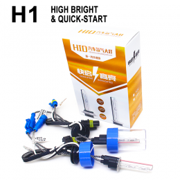 HID conversion  kit h1  quick started 12v 35w  600k