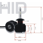 HID 3rd generation all in one H7