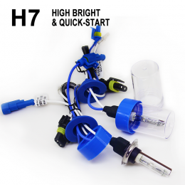 HID xenon kit h7  quick started series